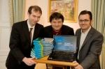 Dr. John Breslin, Prof. Stefan Decker (DERI), Dr. Alexandre Passant (DERI)